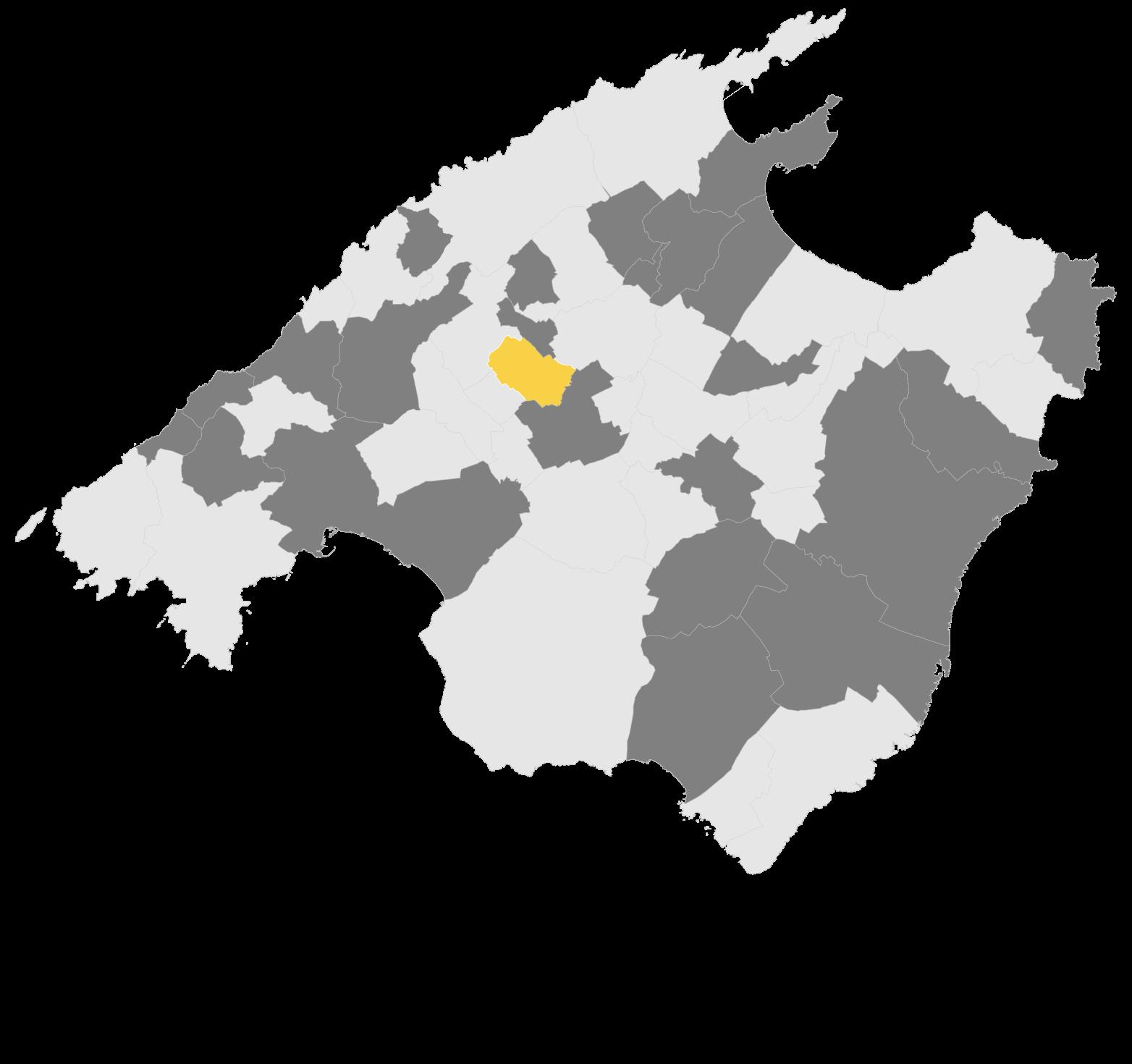 Mapa Binissalem