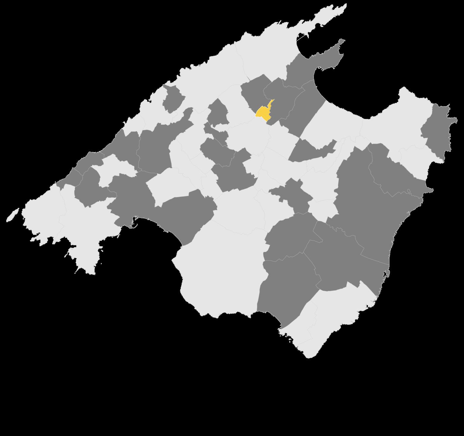 Mapa Búger
