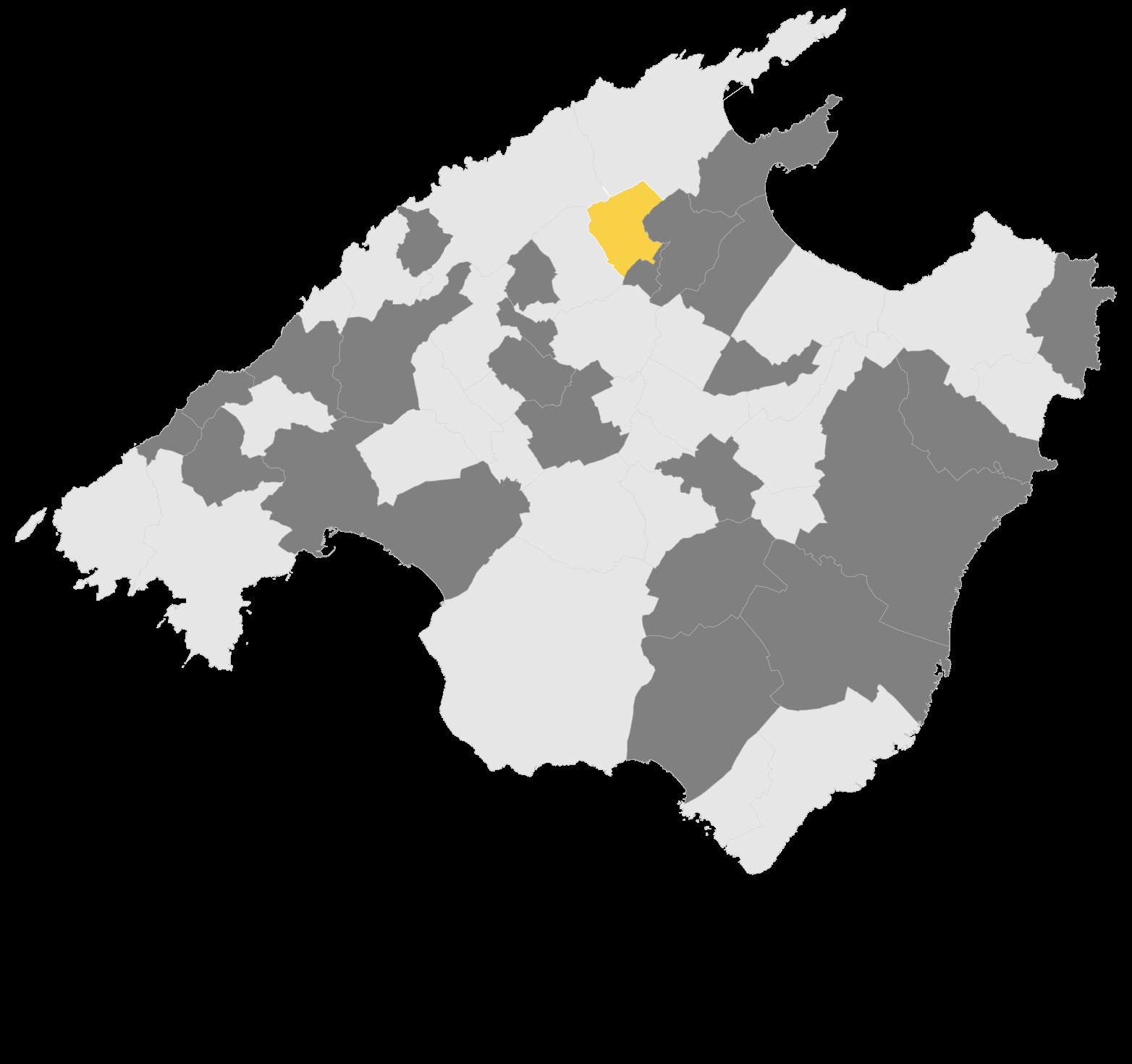 Mapa Campanet
