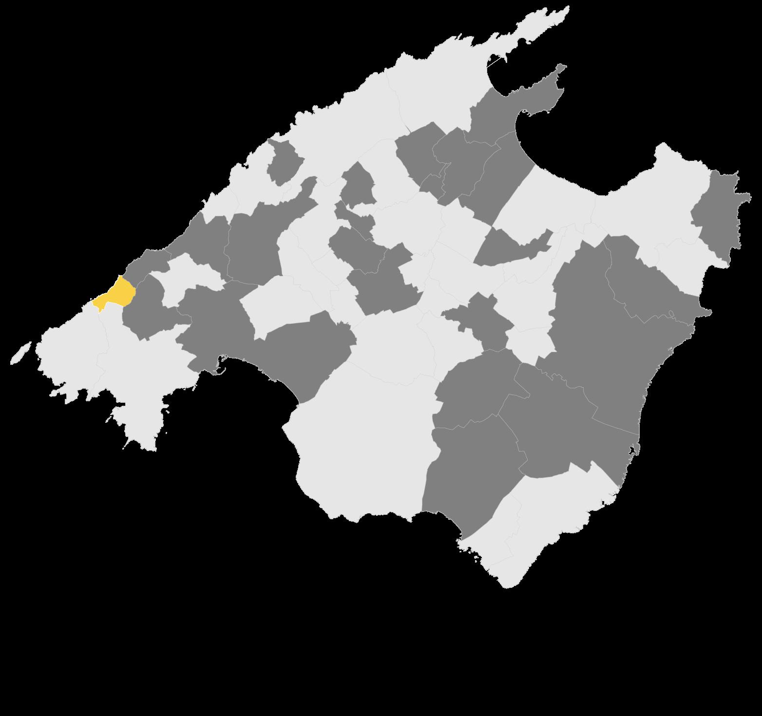 Mapa Estellencs