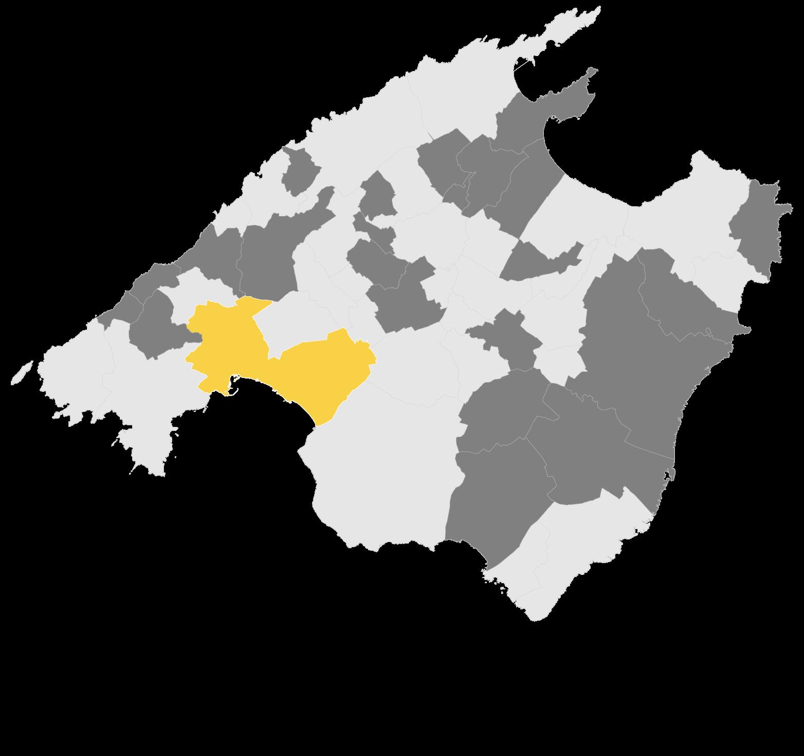 Mapa Palma