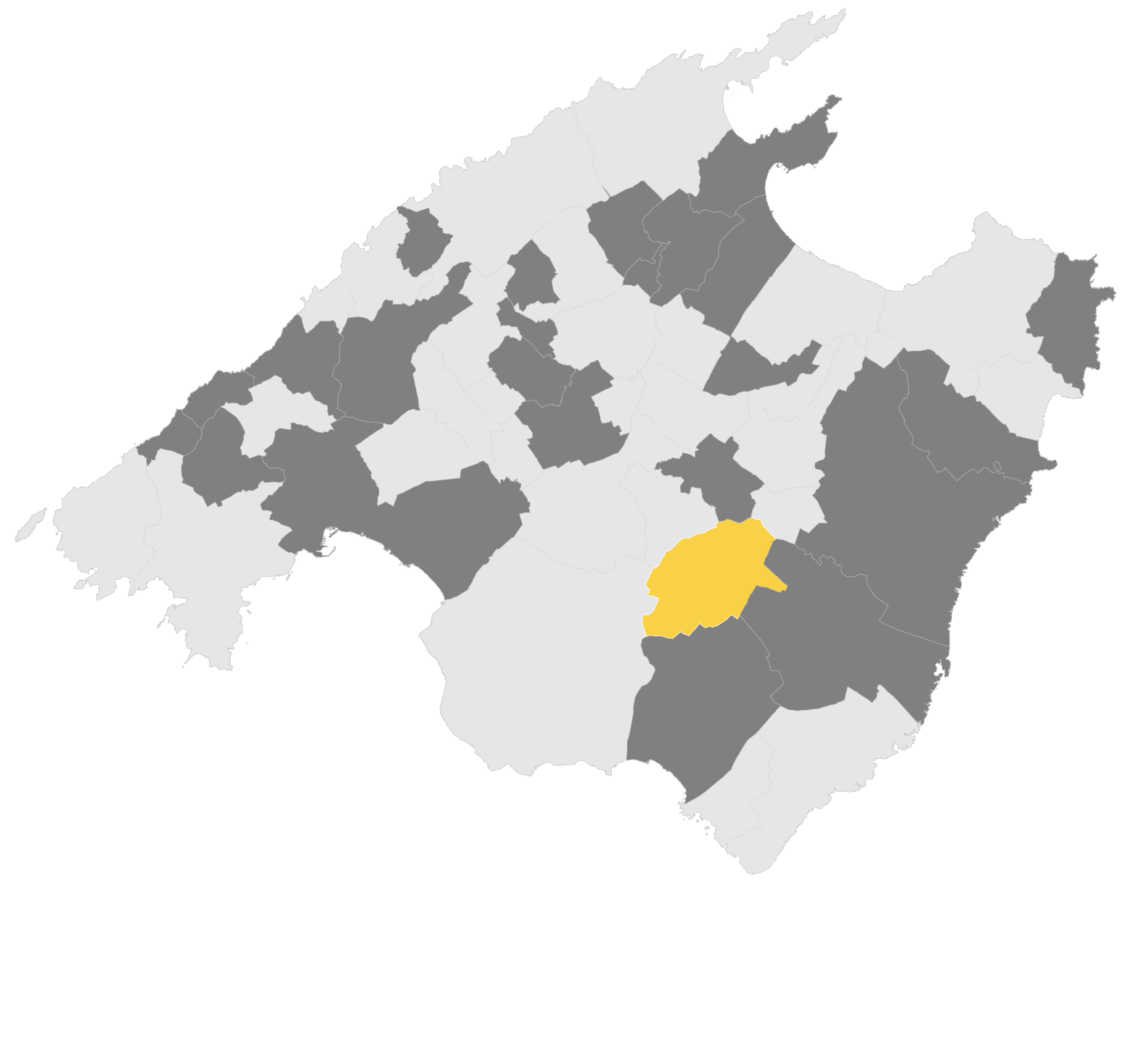 Mapa Porreres