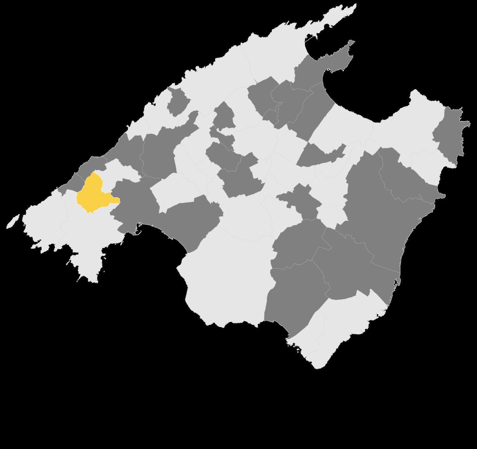 Mapa Puigpunyent