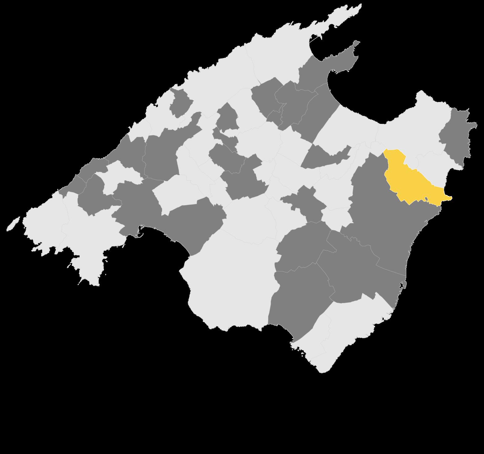 Mapa Sant Llorenç des Cardassar