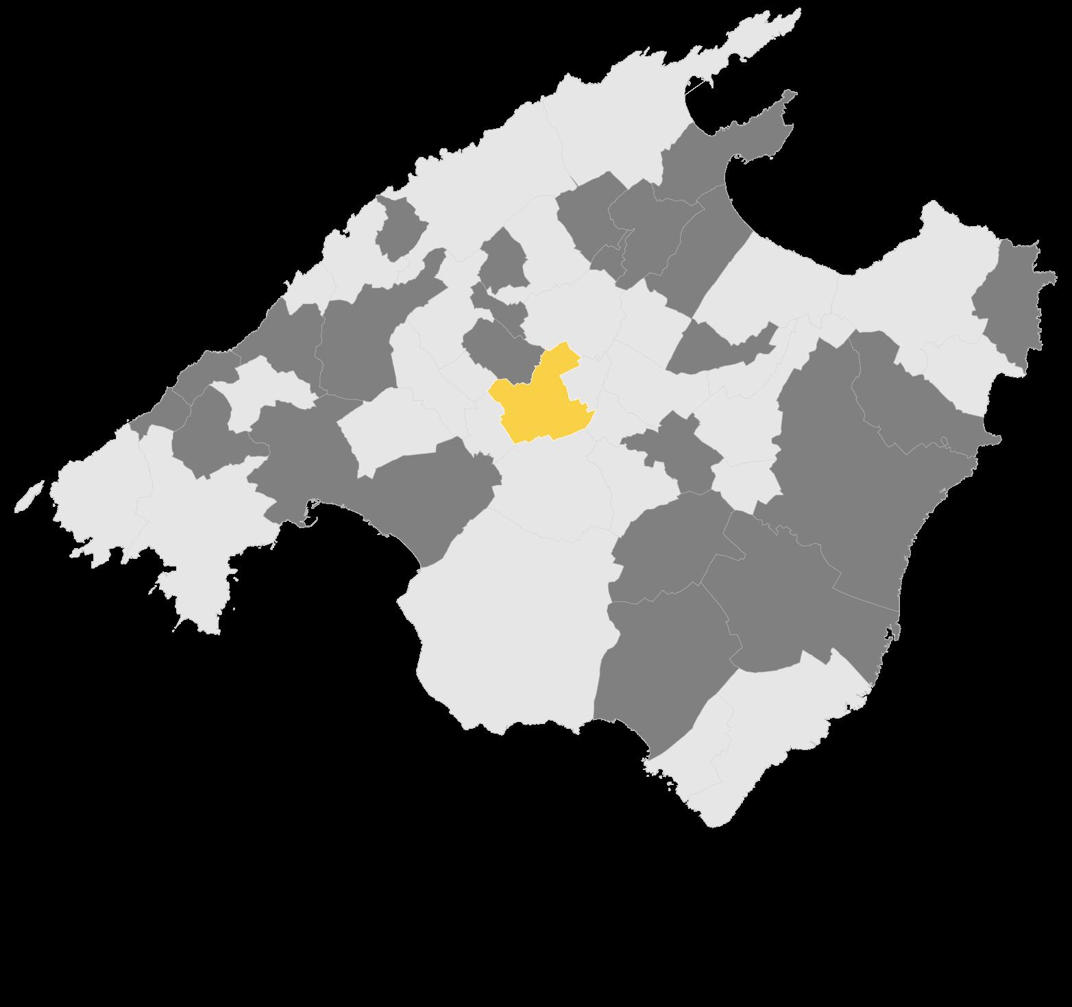 Mapa Sencelles